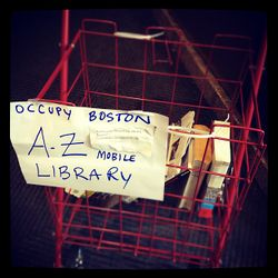 the a-z mobile library cart